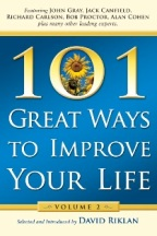 Cover of 101 Great Ways to Improve Your Life, Volume 2, a self-improvement book with 101 self-growth experts